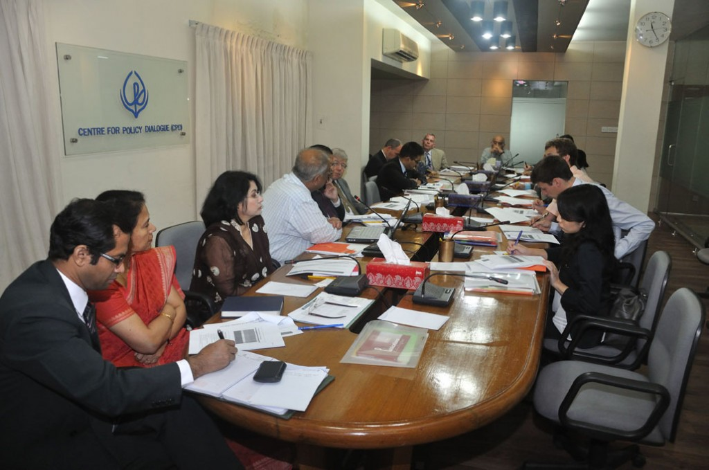 CPD Briefed the Ambassadors on Current Development of Bangladesh
