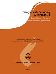 Bangladesh Economy in FY2010-11: Second Interim Review of Macroeconomic Performance